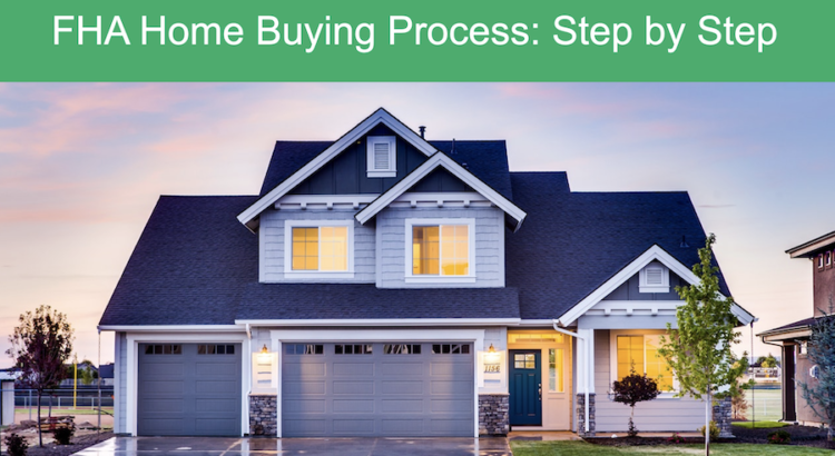 FHA home buying graphic